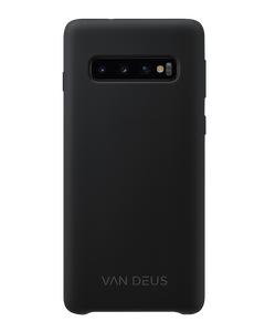 Liquid Silicone Case Black - Samsung S10