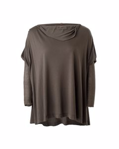 Draped Olive Top
