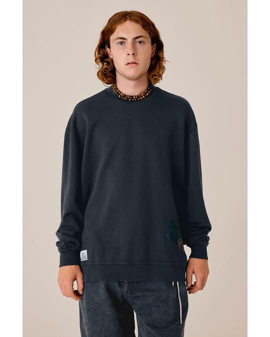 Lee L Sweatshirt Butterfly Black