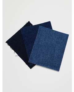 3-pack Denim Patches Blue