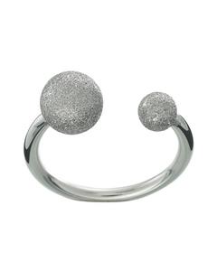 Atom Glittering Ring Stål