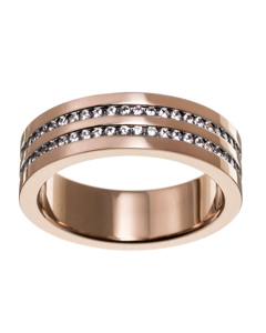 Josefin Ring Double Rose Gold