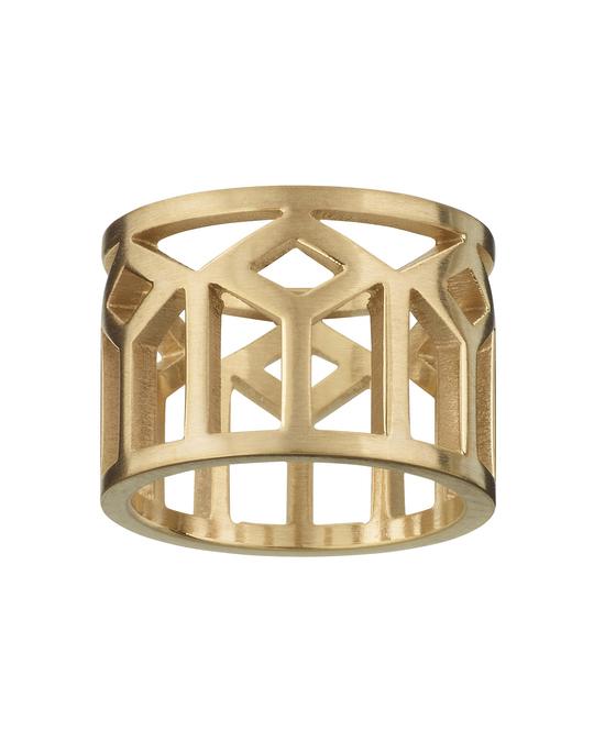 Edblad Shirin Ring Matt Gold