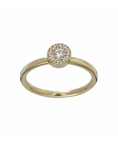 Thassos Ring Mini Gold