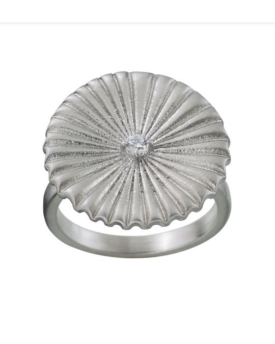 Edblad Crinkle Ring Matt Steel