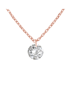 Solitaire Necklace Silver 925