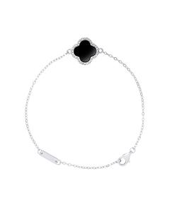 Trefle Bracelet In 925 Silver