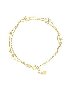 Star Bracelet In 925 Silver