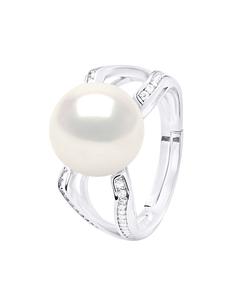 Witte Parel V-ring Tag-j1033-sw