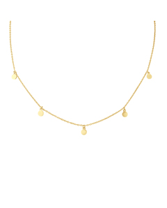 Pampilles Ketting In 925 Zilver Tag-a1169-sy