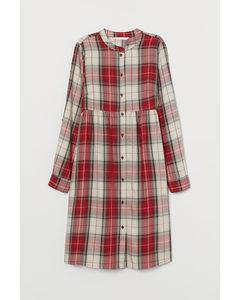 Mama Skjortklänning Röd/rutig