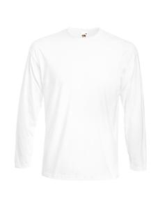 Fruit Of The Loom Mens Super Premium Long Sleeve Crew Neck T-shirt