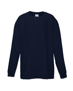 Fruit Of The Loom T-shirt Lange Mouwen Kinderen / Kinder (2 Stuks)