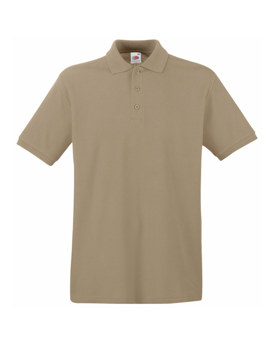 Fruit of the Loom Fruit Of The Loom Premium Mens Short Sleeve Polo Shirt