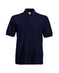 Fruit Of The Loom Mens 65/35 Heavyweight Pique Short Sleeve Polo Shirt