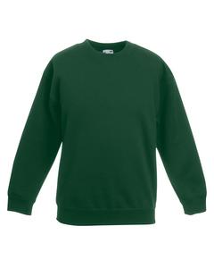 Fruit Of The Loom Childrens Unisex Set In Sleeve Sweatshirt