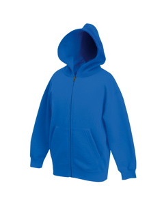 Fruit Of The Loom Childrens/kids Unisex Hooded Sweatshirt Jacket