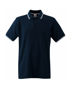 Fruit Of The Loom Tipped Herren Polo-Shirt, Kurzarm