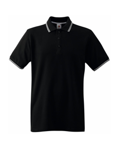 Fruit Of The Loom Tipped Herren Polo-Shirt, Kurzarm