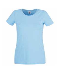 Fruit Of The Loom Ladies/womens Lady-fit Crew Neck Short Sleeve T-shirt