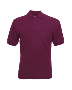 Fruit Of The Loom Mens 65/35 Pique Short Sleeve Polo Shirt