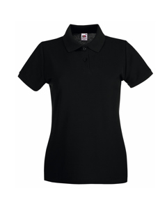 Fruit Of The Loom Ladies Lady-fit Premium Short Sleeve Polo Shirt