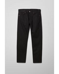 Pine Regular Tapered Jeans Black