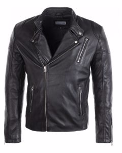 Leather Jacket Qasim