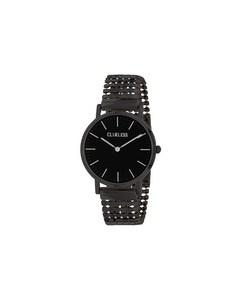 Clueless Horloge Met Stalen Zwartkleurige Band