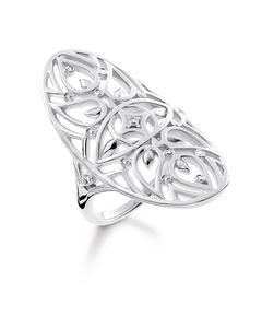 Ring Ornament 925 Sterling Silver, Diamond