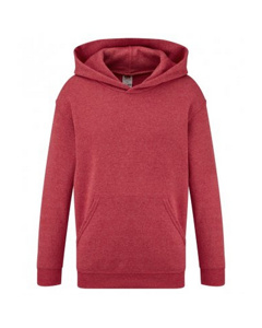 Fruit Of The Loom Childrens/kids Classic Hooded Sweatshirt