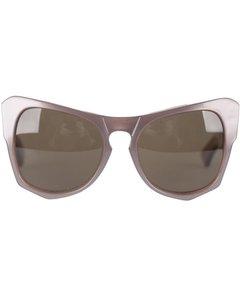 Yves Saint Laurent Brown Acetate Sunglasses Mod: Vanessa