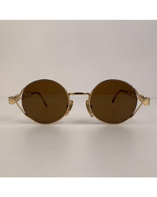 Persol Persol Vintage Gold Metal Sunglasses Mod: MM264