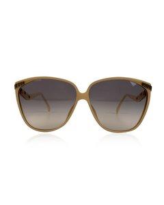 Christian Dior Beige Acetat Solglasögon Modell: 2279
