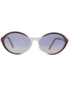 Yves Saint Laurent Vintage Blue Acetate Cat-Eye Sunglasses Mod: Ikaria
