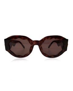 Versace Brown Plastic Sunglasses Model: Mod S13 Col 740