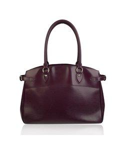 Louis Vuitton Purple Epi Leather Passy Gm Shoulder Bag Satchel