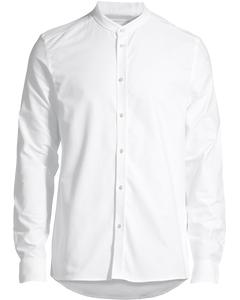 Christoph Mandarin Shirt White