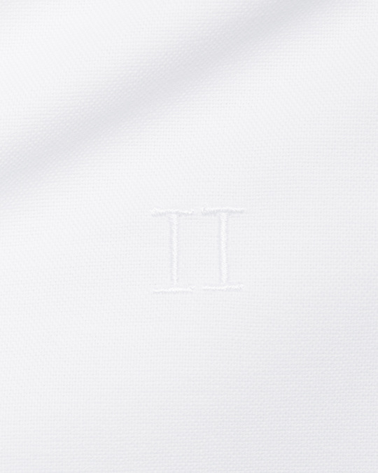 Les Deux Christoph Mandarin Shirt White