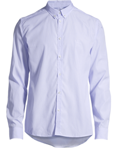 Upc Perry Poplin Shirt Light Blue Stripe