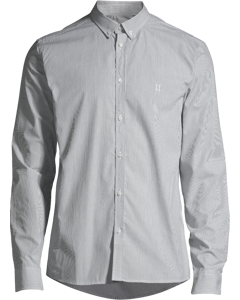 Upc Perry Poplin Shirt Dark Navy Stripe