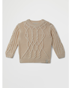 Birk Knitted Sweater A Off White