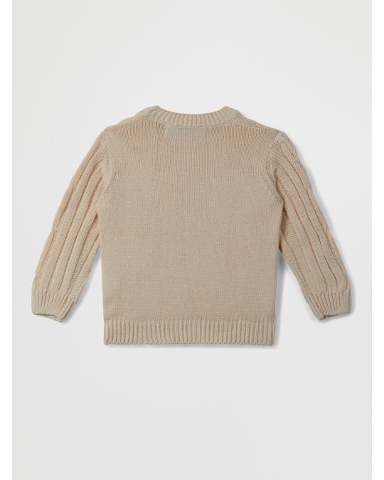 I dig denim Birk Knitted Sweater A Off White