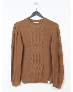 Birk Knitted Sweater Brown