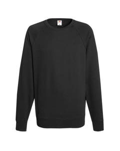 Fruit Of The Loom Mens Lightweight Raglan Sweatshirt (240 Gsm)