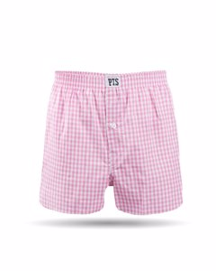 Boxer Gustaf - Checkered Pink