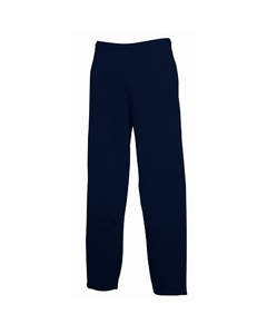 Fruit Of The Loom Mens Open Hem Jog Pants / Jogging Bottoms