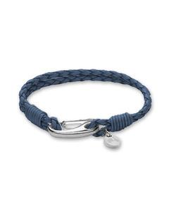 Mocka-armband Blå