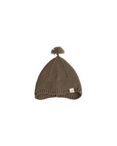 Ben Knitted Bonnet Brown