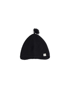 Ben Knitted Bonnet Black